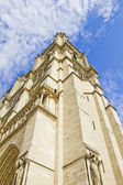 Tower in the Notre Dame cathedral, Paris — Stock Photo