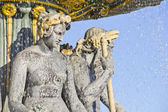 Fountain in the Place de la Concorde, Paris — Stock Photo
