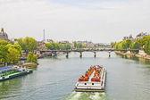 El río sena, parís — Foto de Stock
