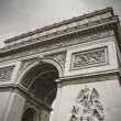 The Arc de Triumph, Paris, France — Stock Photo