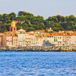Saint Tropez, Mediterranean sea, south of France — Stock Photo