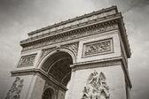 The Arc de Triumph, Paris, France — Stock Photo