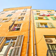Buildings in Nice, French Riviera — Stock Photo