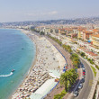 Aerial view of Nice, French Riviera — Stock Photo