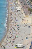 Coast in Nice, south of France — Stock Photo