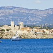 View of Antibes from the sea, France — Stock Photo #14842171