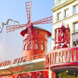 The Moulin Rouge, Paris, France - Stock Photo