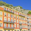 Buildings in Nice, south of France — Stock Photo