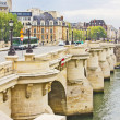 Bridge in Paris, France — Stock Photo