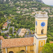 Church in Eze village, south of France — Stock Photo
