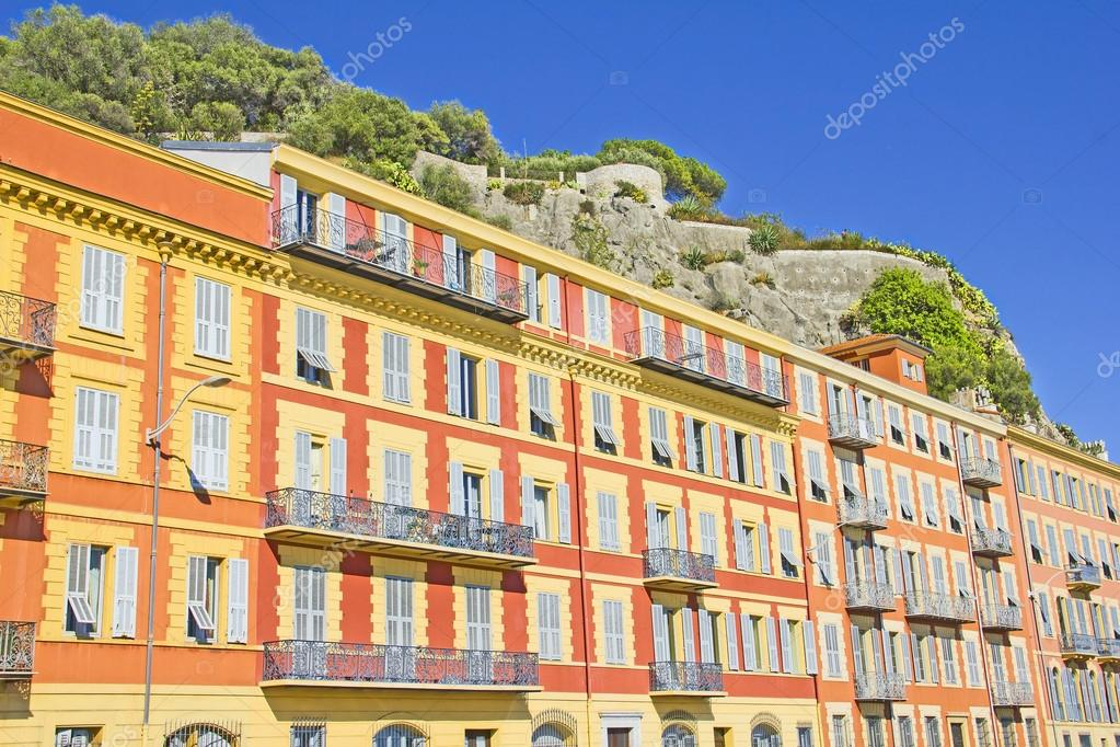 Buildings in Nice, south of France — Stock Photo #14852749