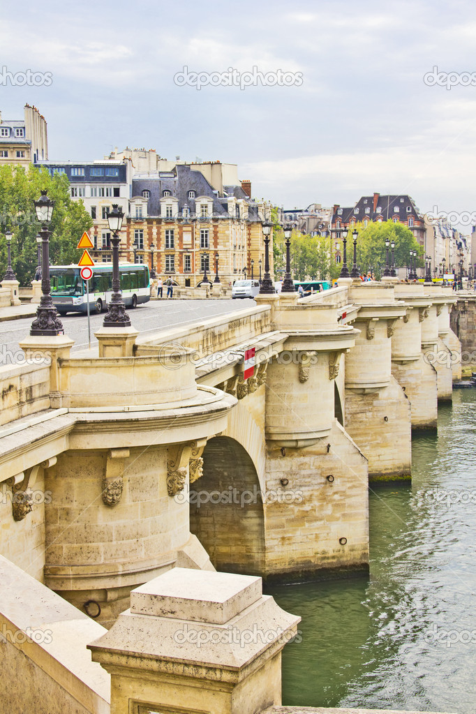 Bridge in Paris, France  Stock Photo #14853089