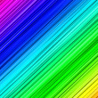 Foto Stock: Textured lines in rainbow colors