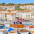 Port in Cassis, French Riviera — Stock Photo #16927457