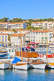 Port in Cassis, French Riviera — Stock Photo