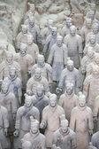 η τερακότα πολεμιστές, xian κίνα — Φωτογραφία Αρχείου