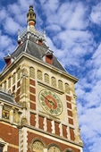 Amsterdam Centraal Station — Stock Photo