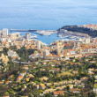 Aerial view of Monaco - Stock Photo