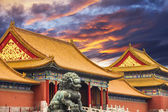 The Forbidden City of Beijing, China — Stock Photo