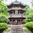 Pavillon in Giant Wild Goose Pagoda, X'ian, China — Stock Photo #24585581