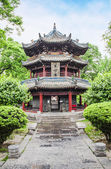 Pavillon in the Giant Wild Goose Pagoda, X'ian, China — Stock Photo