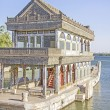 Постер, плакат: The Marble Boat of Purity and Ease Summer Palace Beijing Chin