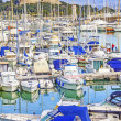 Stock Photo: Yachts and boats in port of Antibes, Cote d'Azur