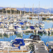 Stock Photo: Boats in port of Antibes, Cote d'Azur