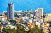 Aerial view of the Monte Carlo Casino, Monaco — Stock Photo