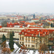 Aerial view of Prague, Czech Republic — Stock Photo