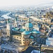 Aerial view of Salzburg, Austria — Stock Photo