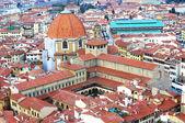 Luftbild von florenz, italien — Stockfoto