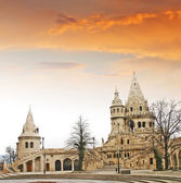 Fishermens Bastion in the Castle Hill, Budapest, Hungary — Stock Photo