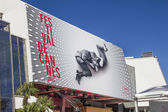 CANNES, FRANCE - MAY 17, 2013: The Palais des Festivals during t — Stock Photo