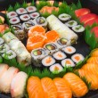 Sushi plate — Stock Photo #25494479