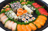 Sushi plate — Stock Photo