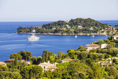 Aerial view of Cap Ferrat, French Riviera — Foto de Stock