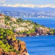 Theoule sur Mer, French Riviera — Stock Photo