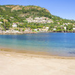 Beach in Theoule sur Mer, French Riviera — Stock Photo #25835425