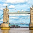 The Tower Bridge, London, UK - Stock Photo