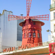 PARIS, FRANCE - SEPTEMBER 9: The Moulin Rouge during the day, on — Stock Photo #27286739