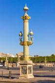 θέση de la concorde πλατεία, παρίσι, γαλλία — Φωτογραφία Αρχείου