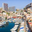 Vallon des Auffes, Marseilles, France — Stock Photo