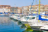 Old port in Marseilles, France — Stockfoto