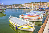 The port of Cassis, south of France — Stock Photo