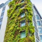 Ecologic building in London — Stock Photo