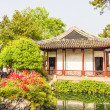 Classical Chinese garden in Shanghai, China — Stock Photo