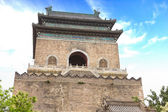 The Bell Tower in Beijing, China — Stock Photo