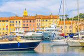 Saint-Tropez in France — Stock Photo