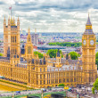 The Parliament and The Big Ben, London — Stock Photo